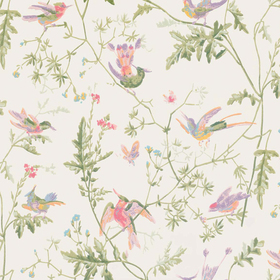 Cole & Son Hummingbirds Soft-Multi 100-14067