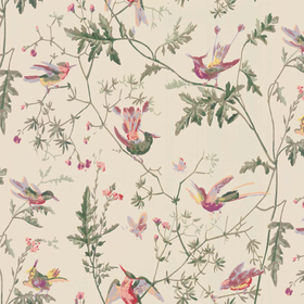 Cole & Son Hummingbirds Original-Multi 100-14071