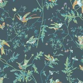 Cole & Son Hummingbirds Viridian 112-4014