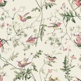 Cole & Son Hummingbirds Cotton Classic-Multi F62-1001