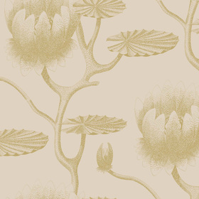 Cole & Son Lily Gold-Linen 95-4019