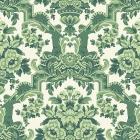 Cole & Son Lola Forest Green-White 117-13040