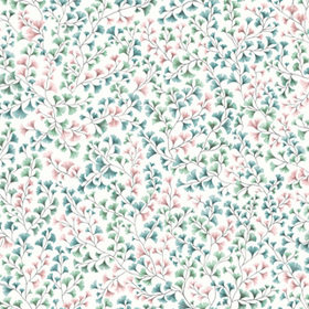 Cole & Son Maidenhair Petrol-Blush-Mint 115-6017