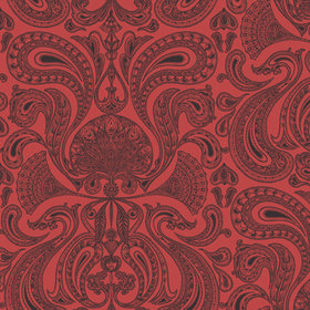 Cole & Son Malabar Black-Red 66-1008