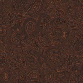 Cole & Son Malachite Black-Copper 77-7025
