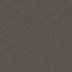 Cole & Son Malachite Charcoal-Silver 114-6012