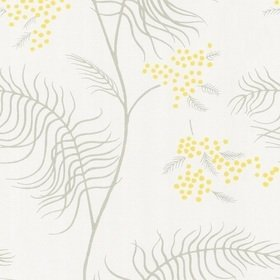 Cole & Son Mimosa Grey-Yellow-White 69-8132