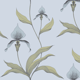 Cole & Son Orchid Blue-Grey-Sage 66-4026