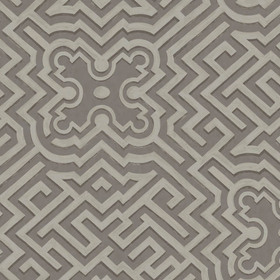 Cole & Son Palace Maze Gilver-Charcoal 98-14056