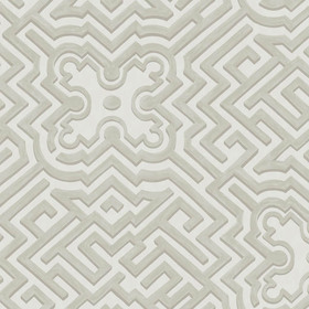 Cole & Son Palace Maze Stone-White 98-14058