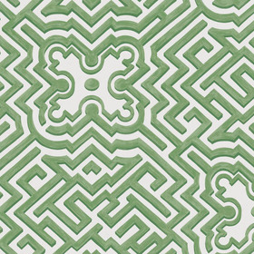 Cole & Son Palace Maze Green-Ivory 98-14059