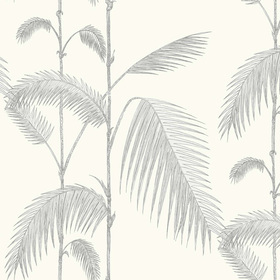Cole & Son Palm Leaves Dove Grey 95-1008