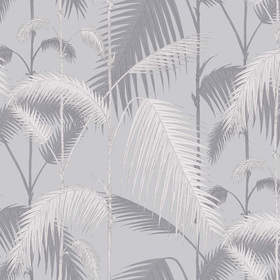 Cole & Son Palm Jungle Silver 95-1007
