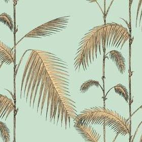 Cole & Son Palm Leaves Mint-Sand 112-2006