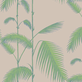 Cole & Son Palm Leaves Green-Cream 66-2011