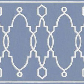 Cole & Son Parterre Border Cobalt Blue 99-3014