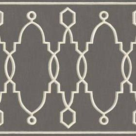 Cole & Son Parterre Border Charcoal 99-3015