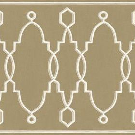 Cole & Son Parterre Border Gold 99-3017