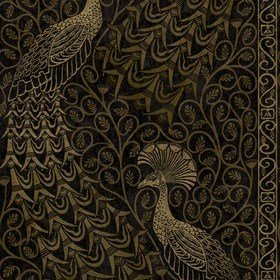 Cole & Son Pavo Parade Metallic Gold-Soot 116-8032