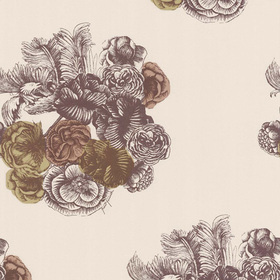 Cole & Son Peonie Gold-Copper-Neutral 77-3009