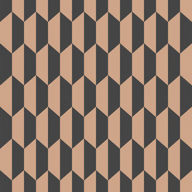 Cole & Son Petite Tile Charcoal-Bronze 112-5022