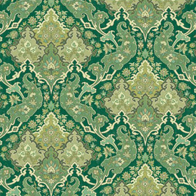 Cole & Son Pushkin Forest Green 108-8041