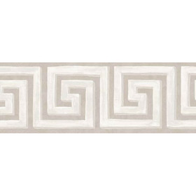 Cole & Son Queens Key Border Grey-Stone 98-9040