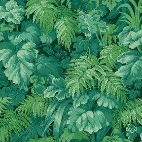 Cole & Son Royal Fernery Forest Green 113-3009