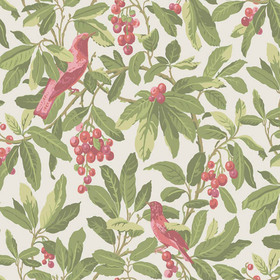 Cole & Son Royal Garden Coral-Olive 98-1002
