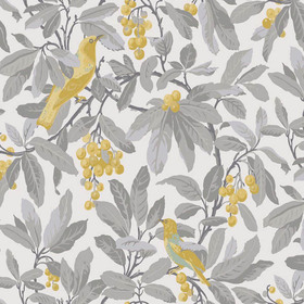 Cole & Son Royal Garden Yellow-Grey 98-1003