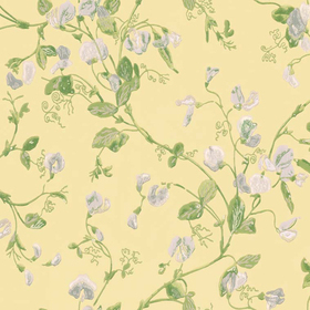 Cole & Son Sweet Pea Yellow 100-6029