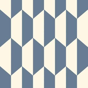 Cole & Son Tile Navy-White 105-12054