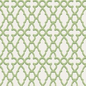 Cole & Son Treillage Leaf Green-Chalk 116-6022