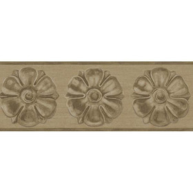 Cole & Son Tudor Rose Border Metallic Gold 98-4015