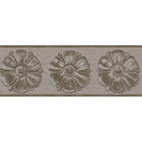 Cole & Son Tudor Rose Border Gilver 98-4016
