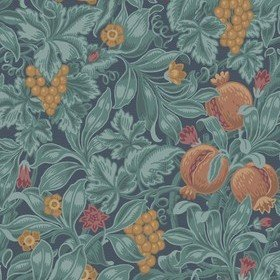 Cole & Son Vines Of Pomona Burnt Orange-Teal-Petrol 116-2005