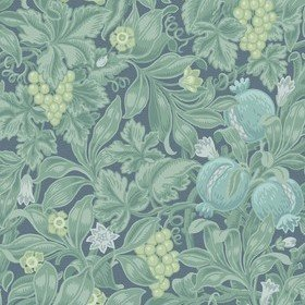 Cole & Son Vines Of Pomona Teal-Viridian-Denim 116-2006