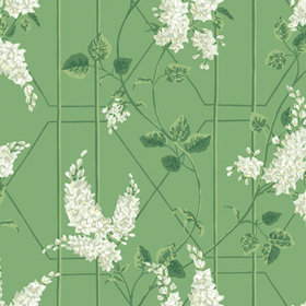 Cole & Son Wisteria Sage-Leaf Green 115-5016