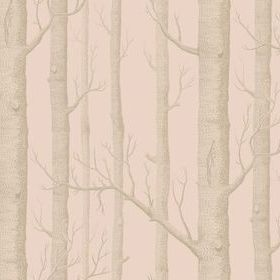 Cole & Son Woods Pink-Gilver 103-5024