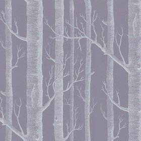 Cole & Son Woods Lilac-Charcoal 69-12151