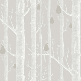 Cole & Son Woods & Pears White-Grey 95-5029