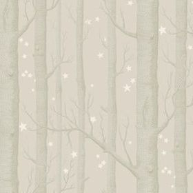 Cole & Son Woods & Stars Grey 103-11048