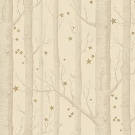 Cole & Son Woods & Stars Buff-Gold 103-11049