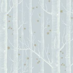 Cole & Son Woods & Stars Powder Blue 103-11051