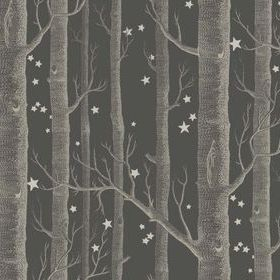 Cole & Son Woods & Stars Charcoal 103-11053