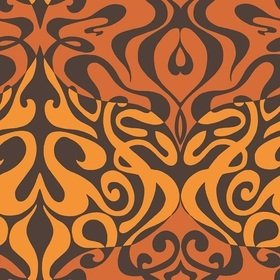 Cole & Son Woodstock Peach-Ochre-Brown 69-7126