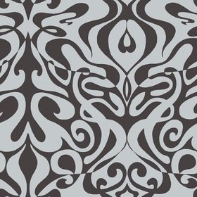 Cole & Son Woodstock Black-Silver Foil 69-7127