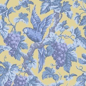 Cole & Son Woodvale Orchard Hyacinth-Lilac-China Blue-Ochre 116-5017