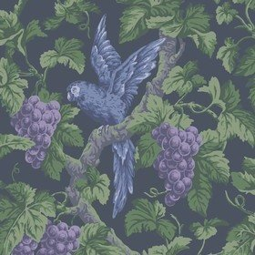 Cole & Son Woodvale Orchard Violet-Purple-Forest-Ink 116-116-5019