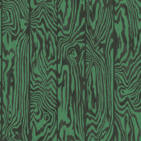 Cole & Son Zebrawood Emerald 107-1001